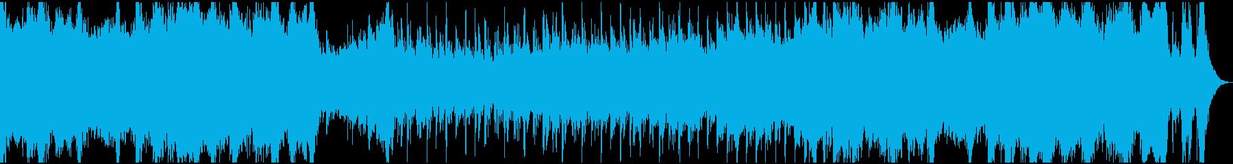 現代的 交響曲 エピック お祭り ...の再生済みの波形