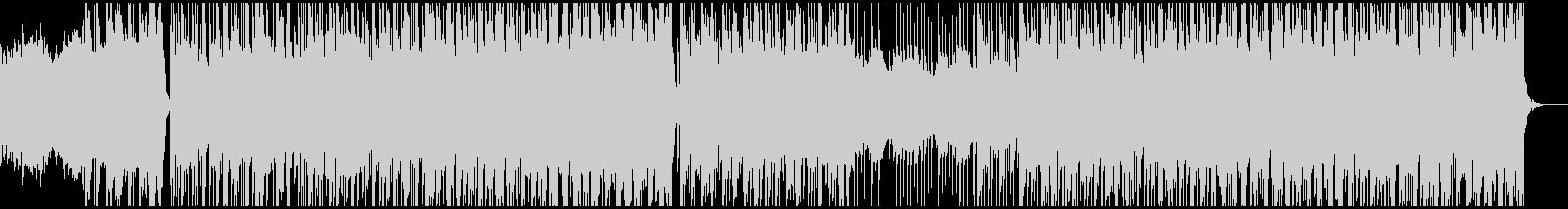 津軽三味線×ケルト音楽の未再生の波形