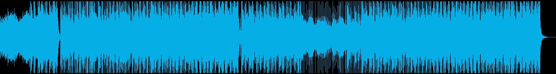 津軽三味線×ケルト音楽の再生済みの波形
