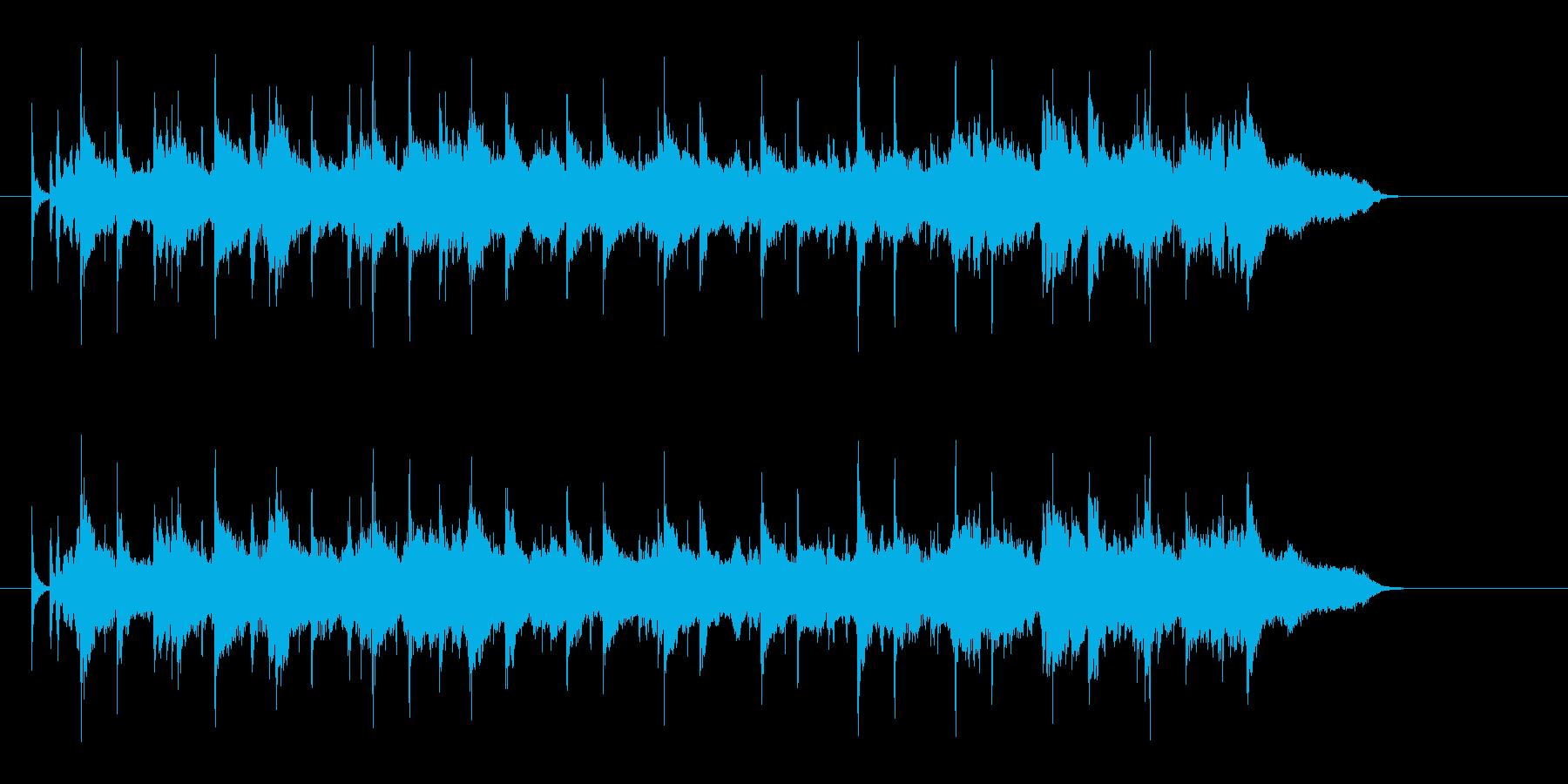 しっとりしたオープニング・バラードの再生済みの波形