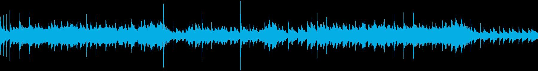 鈴の音が特徴的な明るいワルツですの再生済みの波形