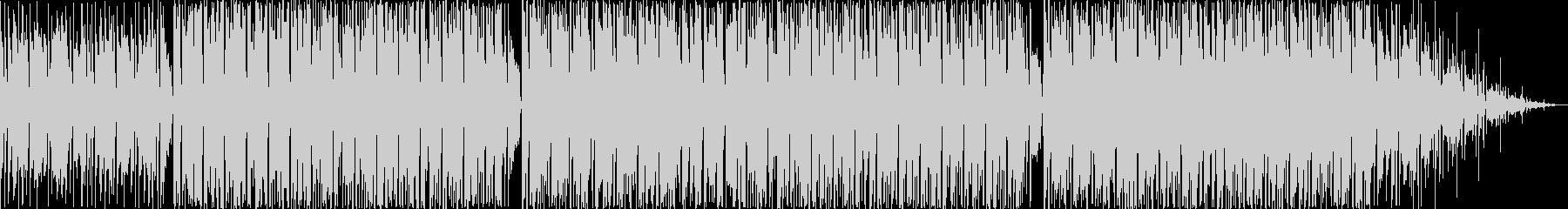 軽快で前向きなHiphopBeatの未再生の波形