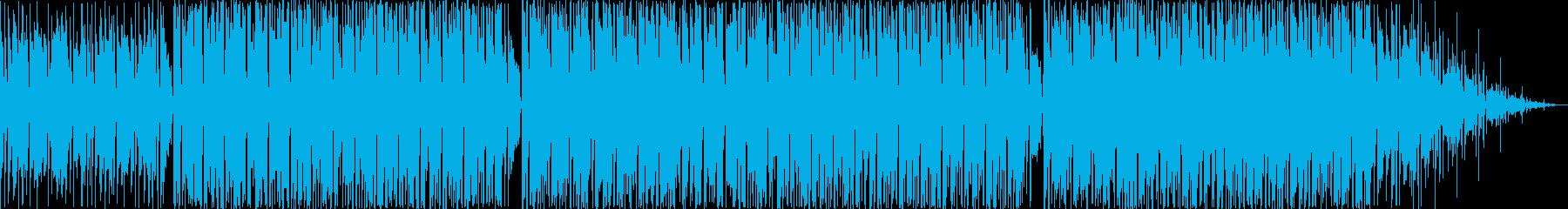 軽快で前向きなHiphopBeatの再生済みの波形