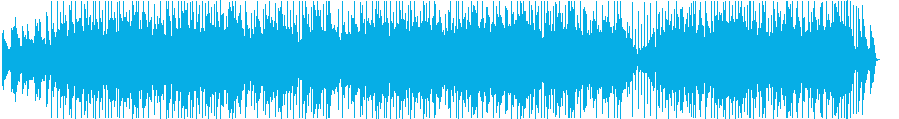 アンビエント感のあるチル、ヒップホップの再生済みの波形