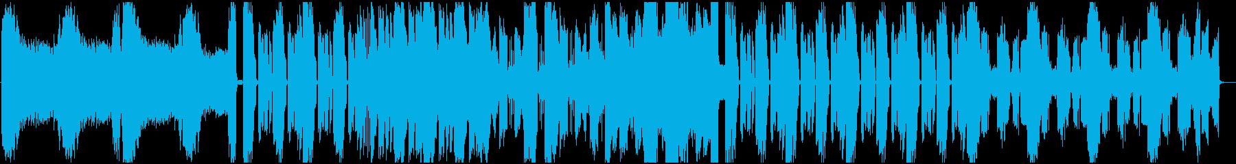 インダストリアル系ダブステップ ハードの再生済みの波形