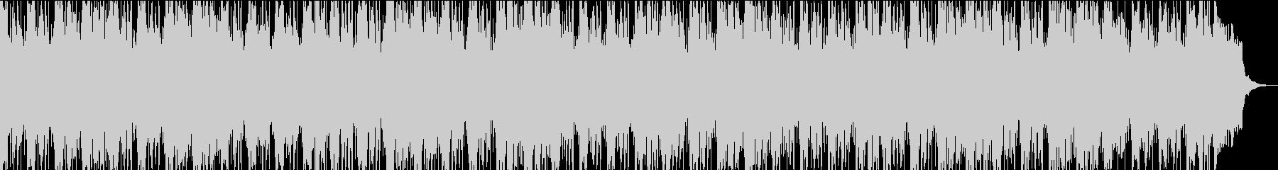 お洒落なミディアムテクノポップBGMの未再生の波形