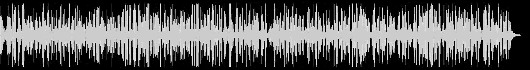 おしゃれでかっこいいジャズピアノトリオの未再生の波形