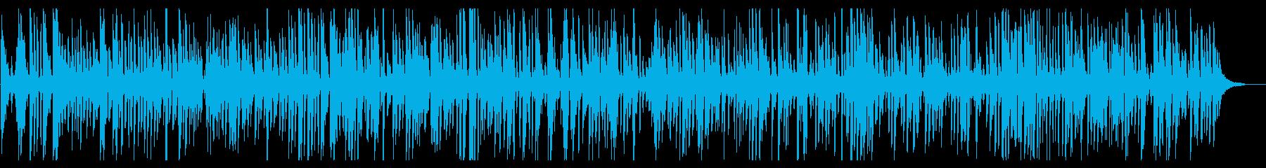 おしゃれでかっこいいジャズピアノトリオの再生済みの波形