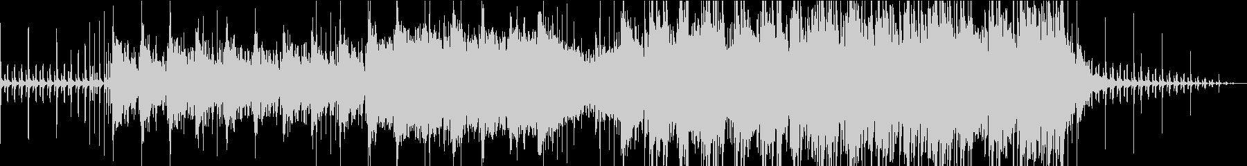 一匹の子栗鼠の未再生の波形