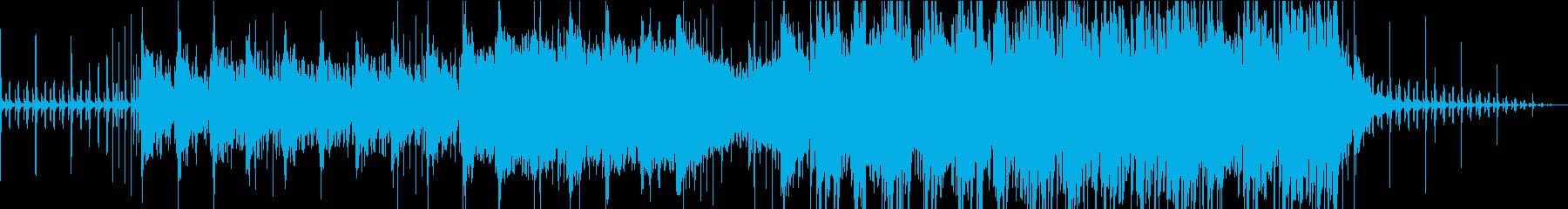 一匹の子栗鼠の再生済みの波形
