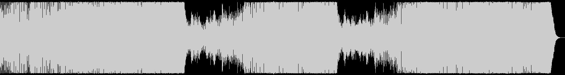 爽やか哀愁感のピアノプログレッシブハウスの未再生の波形