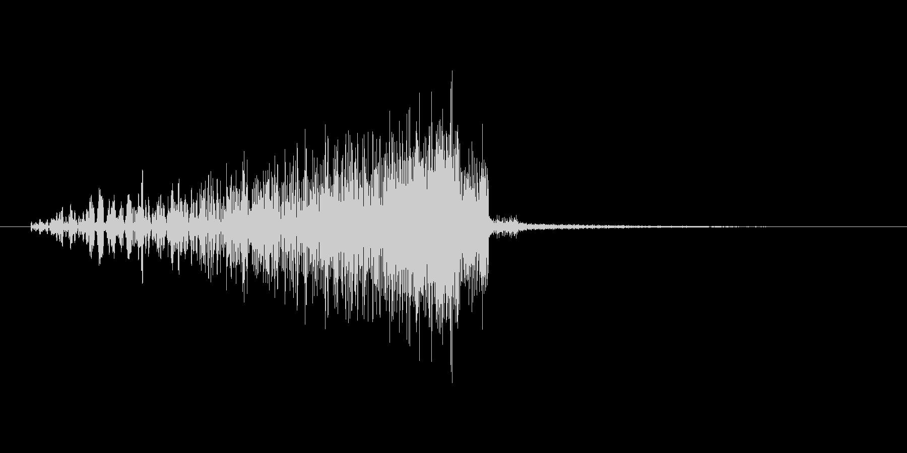 リバース音の未再生の波形