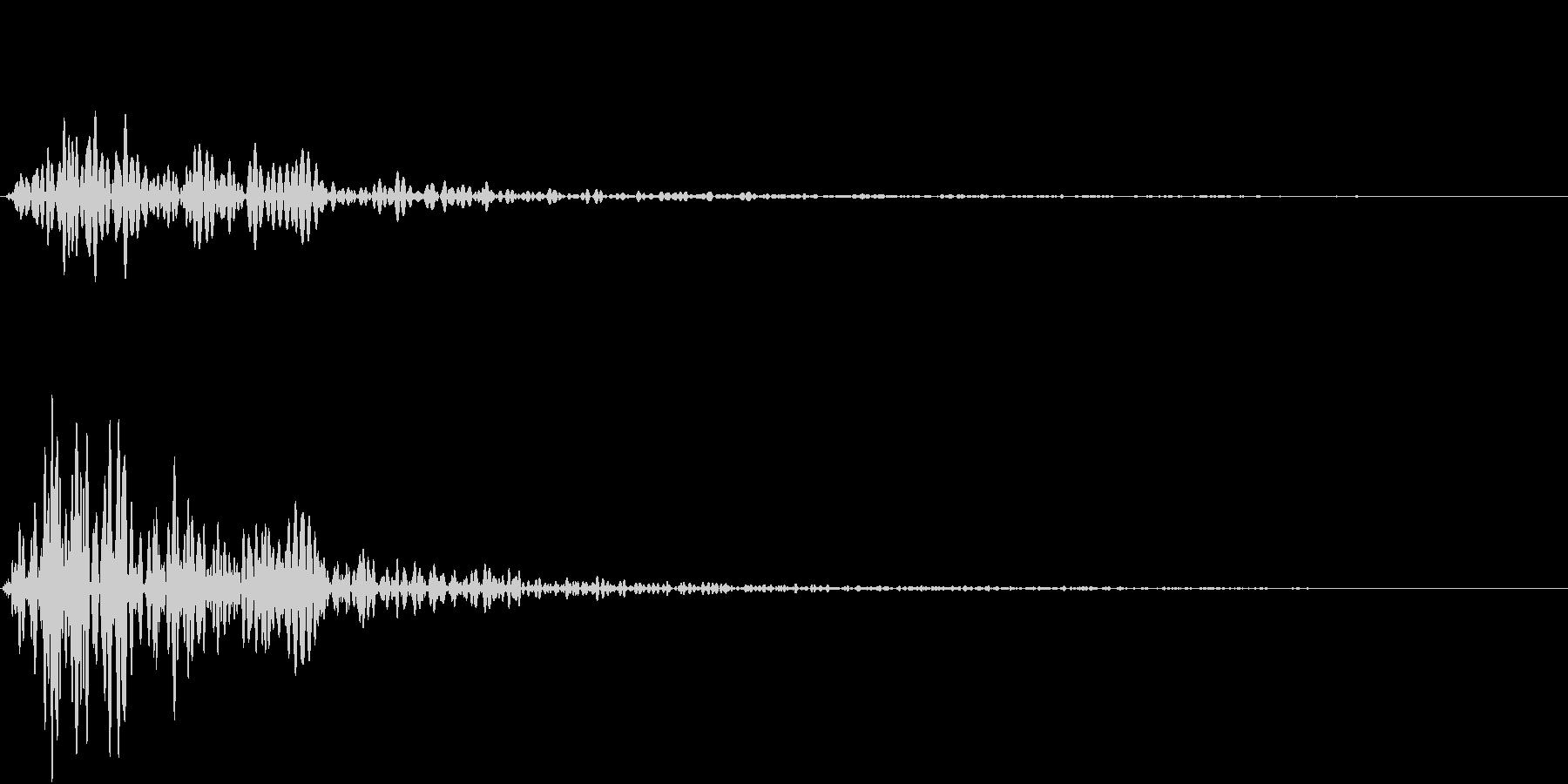 Kitchen 調理器具の音 単発 6の未再生の波形