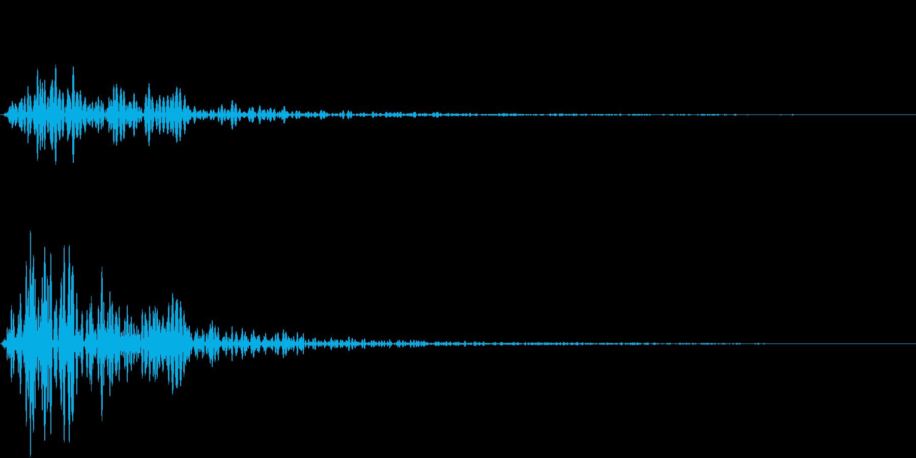 Kitchen 調理器具の音 単発 6の再生済みの波形