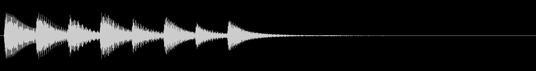 KANTアプリサウンド010231の未再生の波形