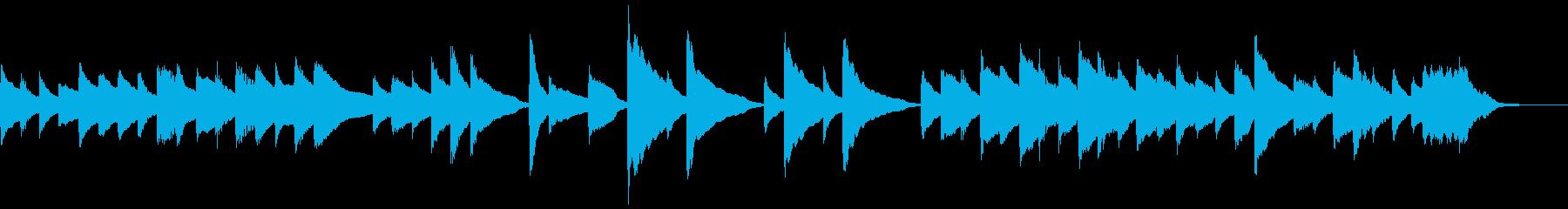 【悲壮感】30秒ピアノソロの再生済みの波形
