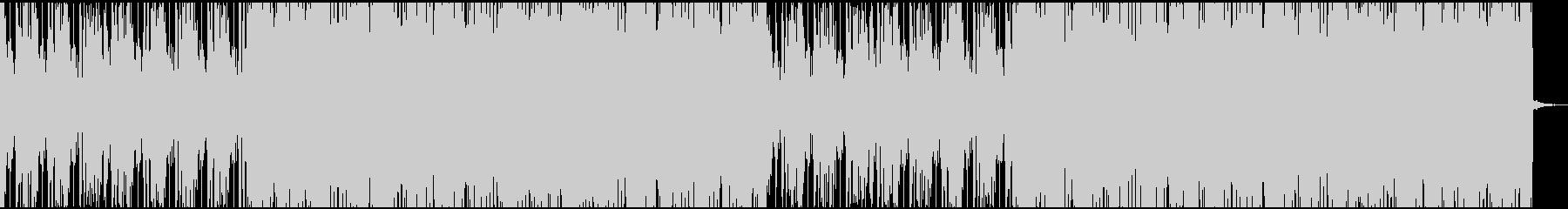 ファイルの未再生の波形