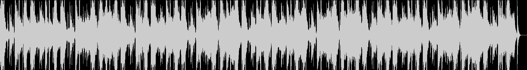 グリッチとザラザラしたダブステップ...の未再生の波形