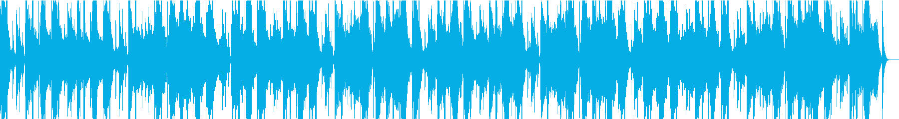 グリッチとザラザラしたダブステップ...の再生済みの波形
