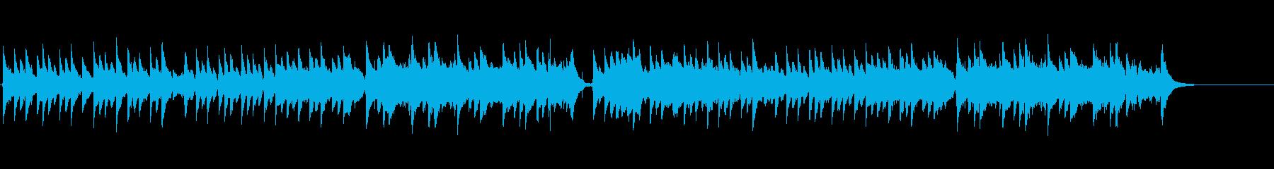 和風/琴が懐かしい、優しい曲の再生済みの波形