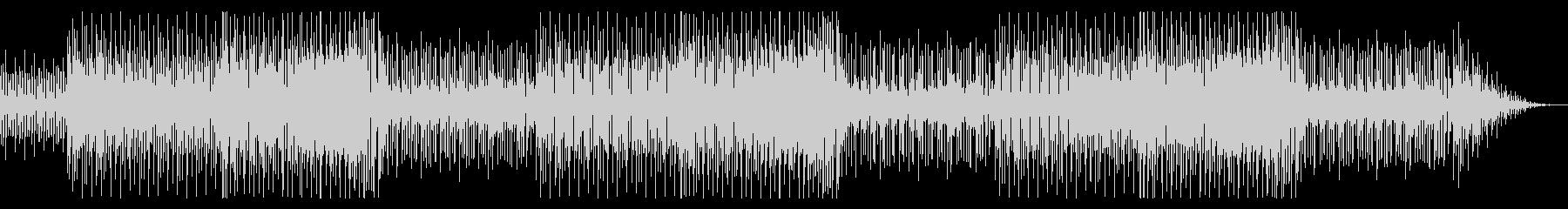 軽快なピアノ 爽やかなBGMの未再生の波形