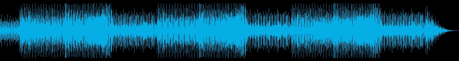 軽快なピアノ 爽やかなBGMの再生済みの波形