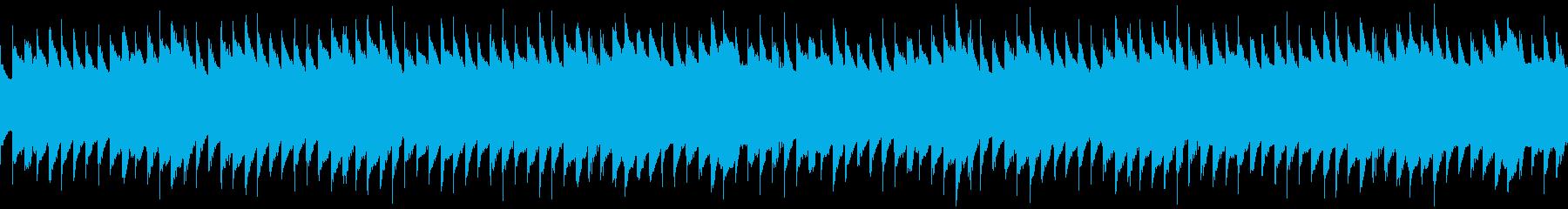 オルゴールアルペジオの再生済みの波形