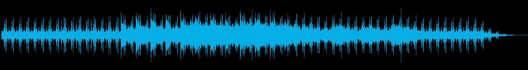 日常をリラックスできるBGMの再生済みの波形
