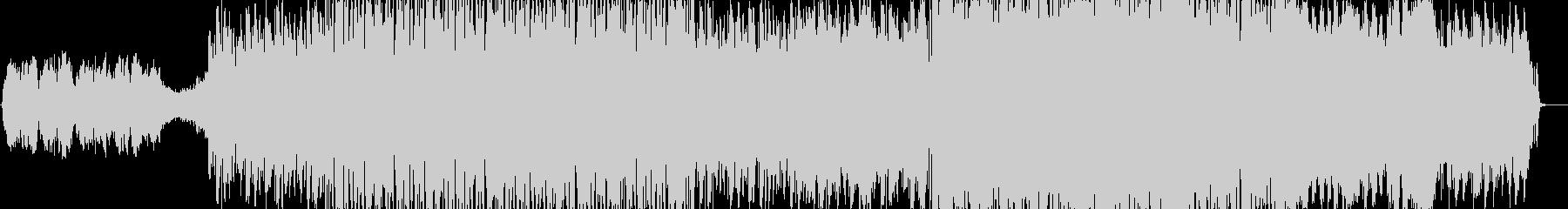 夏の終わりを表現したストリングスBGMの未再生の波形