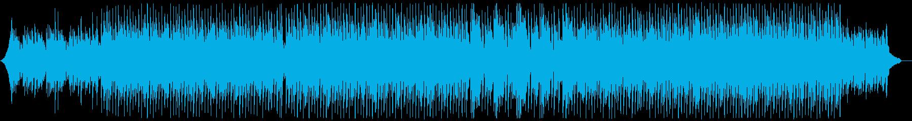 現代的な和風三味線ポップ:弦楽器無しの再生済みの波形