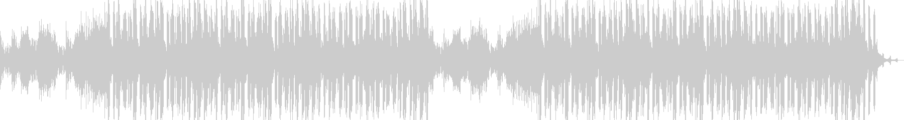 Koto Main: A quiet and modern BGM's unreproduced waveform