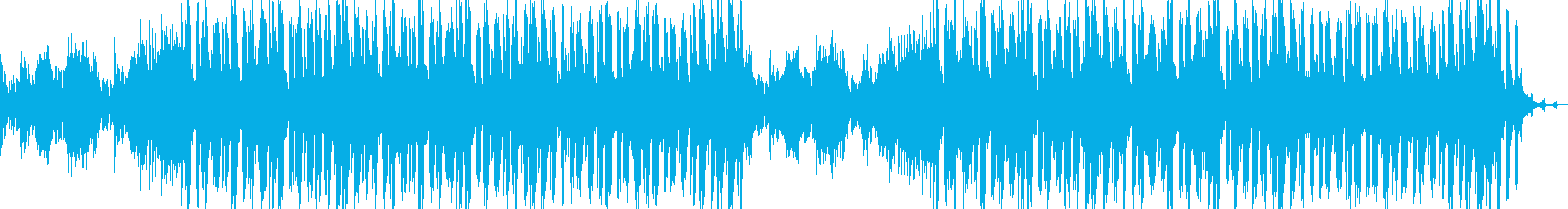 Koto Main: A quiet and modern BGM's reproduced waveform