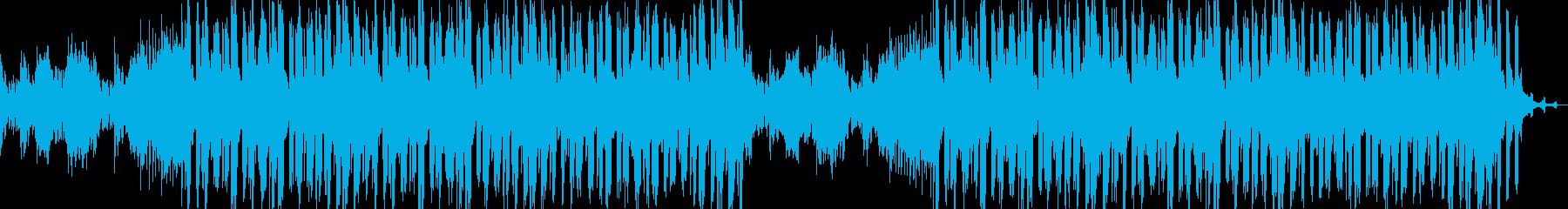 琴メイン 近来的で静かなBGMの再生済みの波形