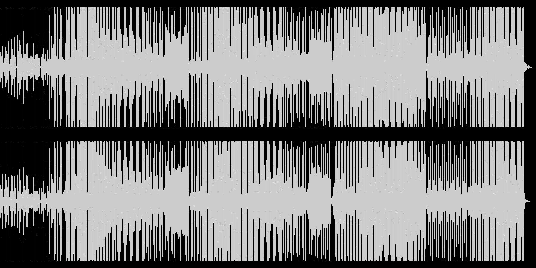 洋楽系ポップス(future pop)の未再生の波形