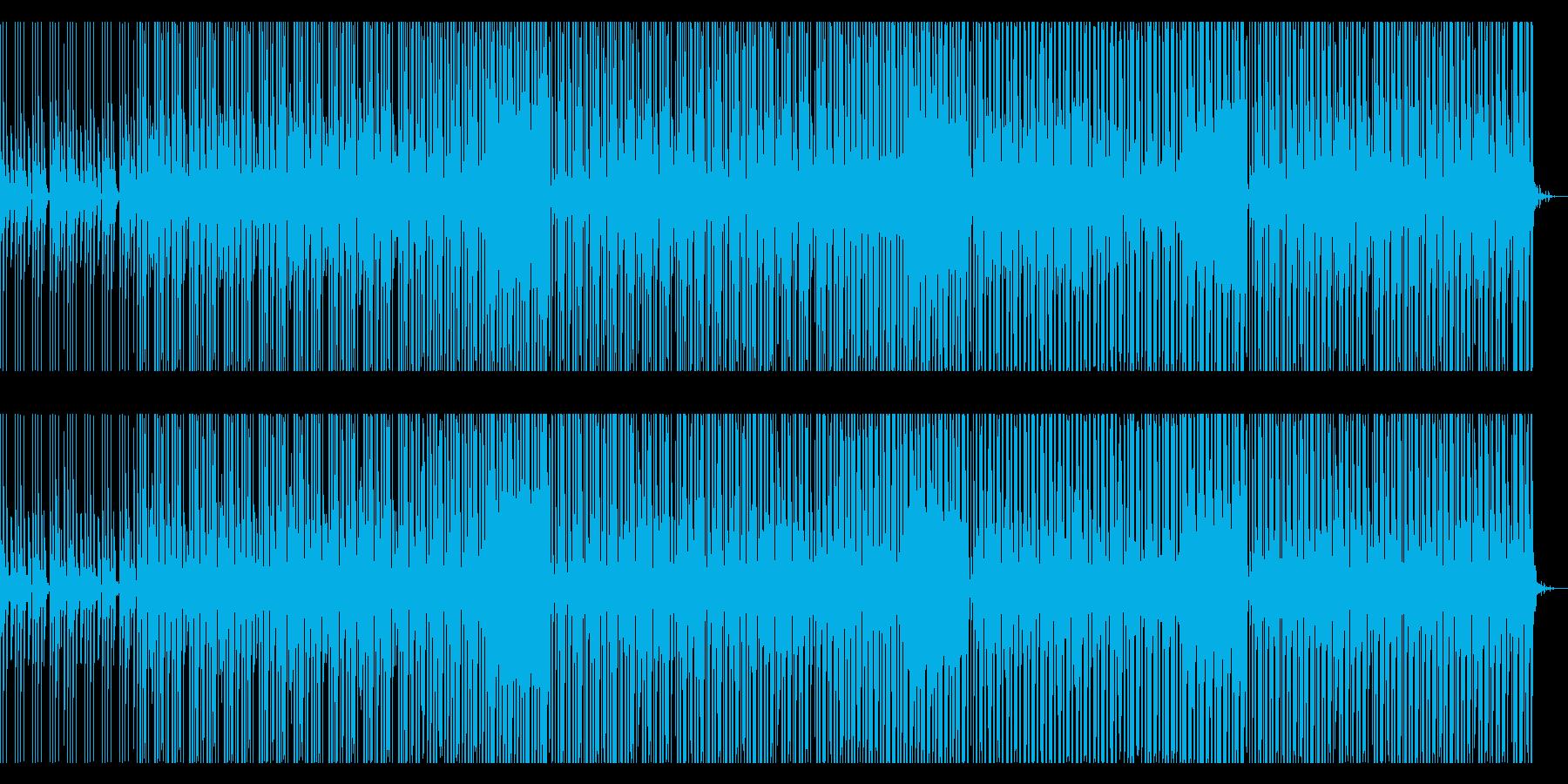 洋楽系ポップス(future pop)の再生済みの波形