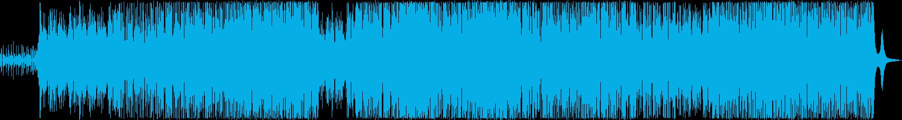 動画 アクション 環境 説明的 ポ...の再生済みの波形