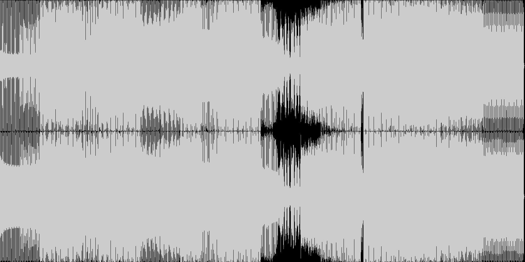 ディープ・ハウス。美しいメロディー...の未再生の波形