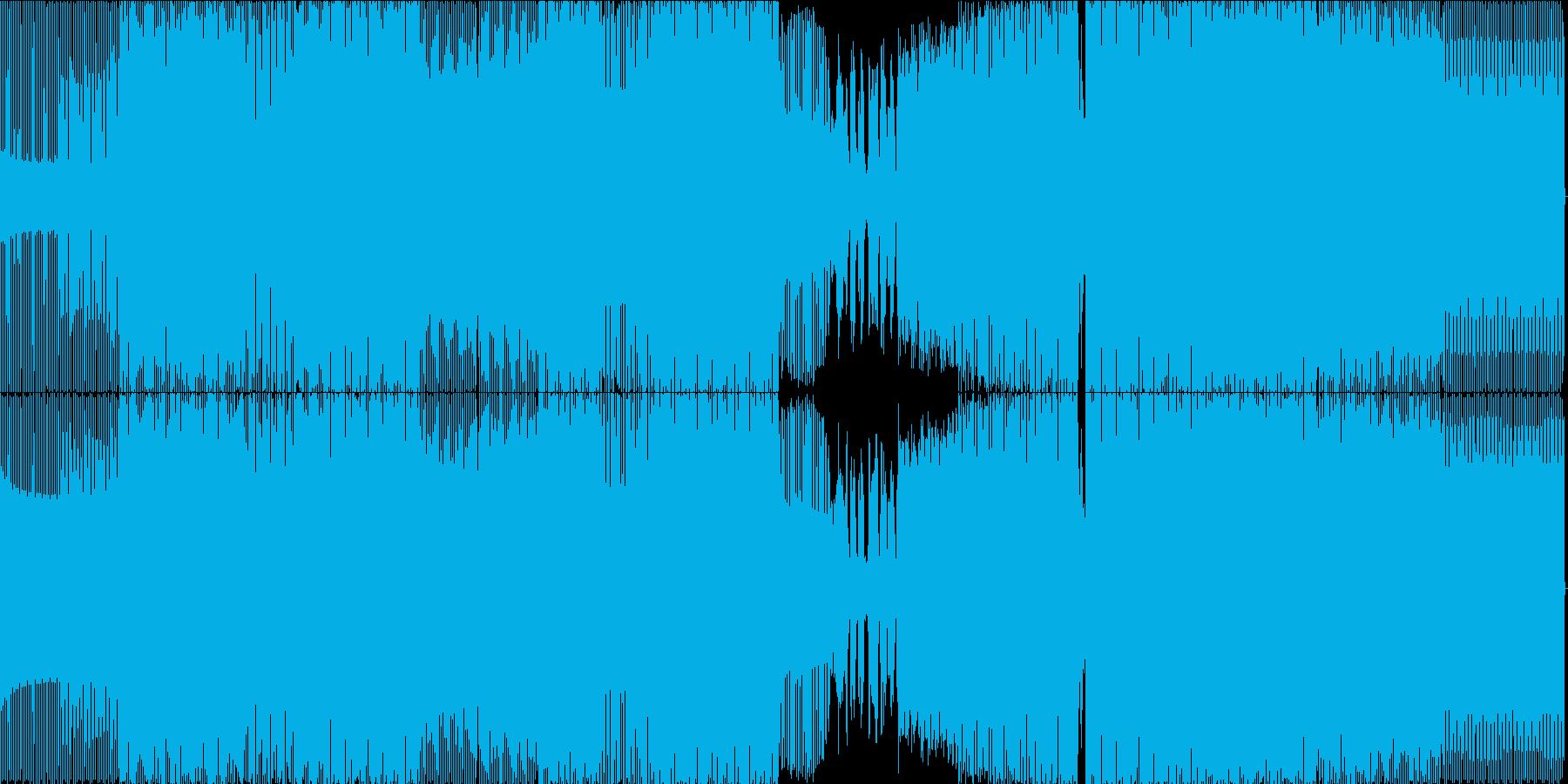 ディープ・ハウス。美しいメロディー...の再生済みの波形
