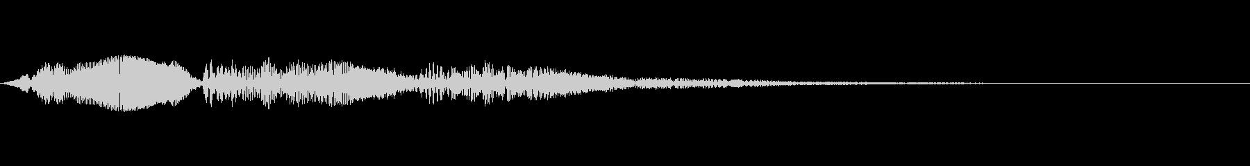 ピピピピ(アプリの汎用的なタップ音の未再生の波形