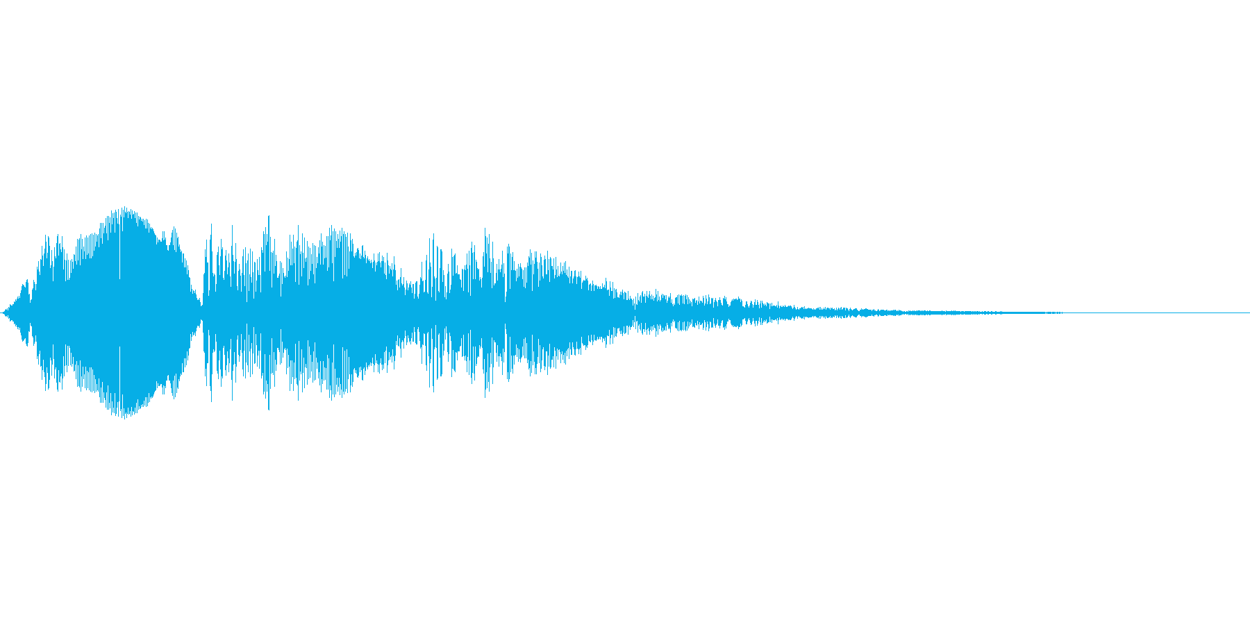 ピピピピ(アプリの汎用的なタップ音の再生済みの波形