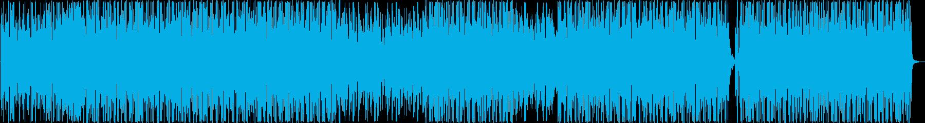 お洒落でシンプルなビートの再生済みの波形