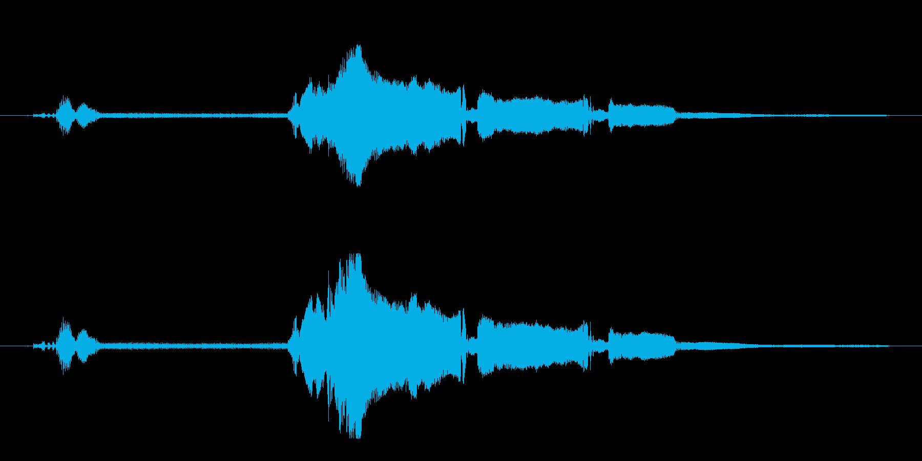 シビック-スタート、ショートアイド...の再生済みの波形