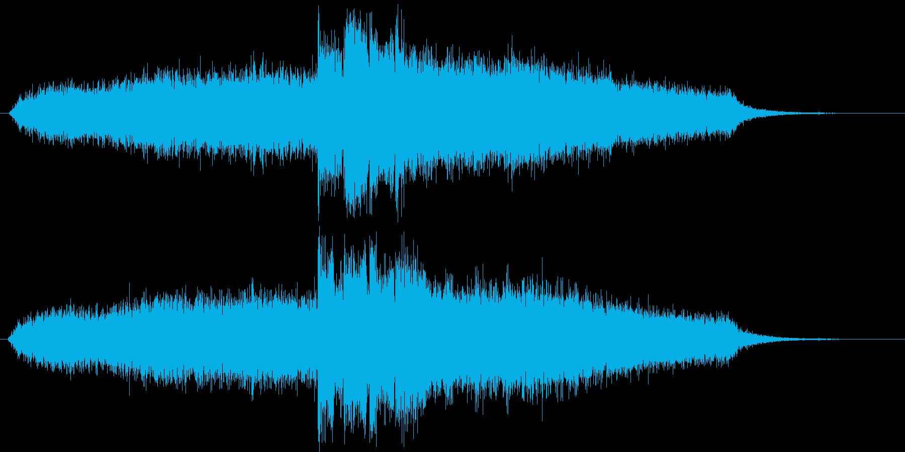 怪しいショートソングの再生済みの波形
