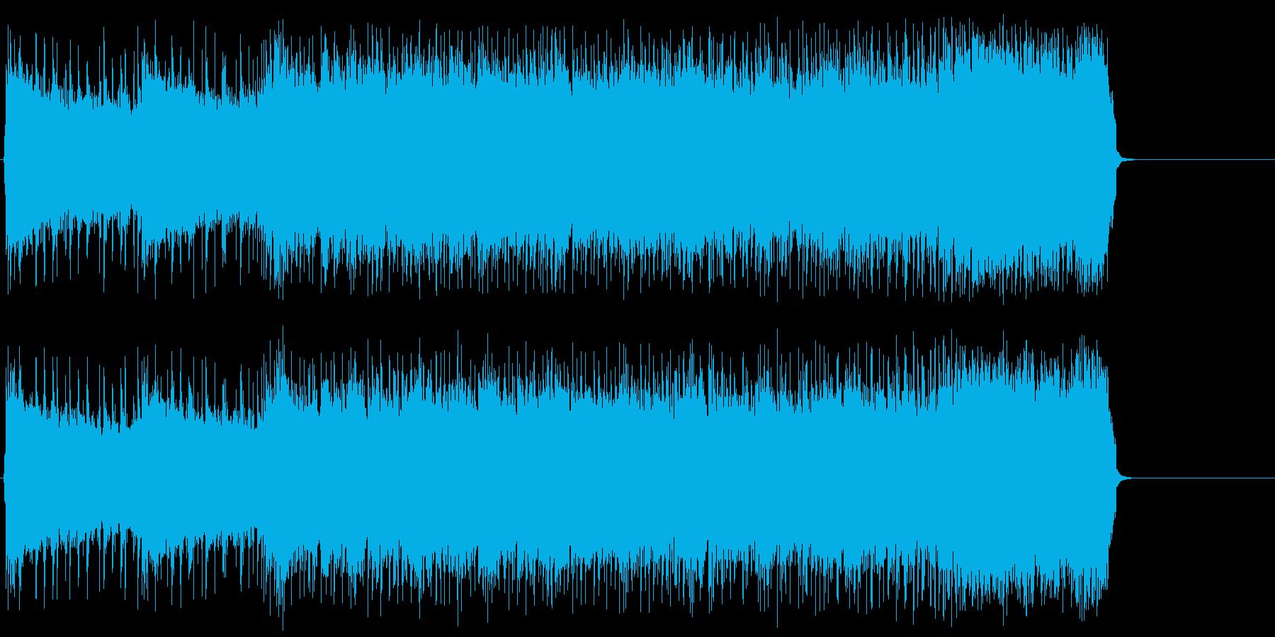 疾走感溢れる熱いロック/ハード/ポップの再生済みの波形