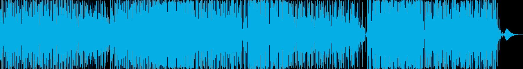 宇宙系優しいエレクトロニカの再生済みの波形