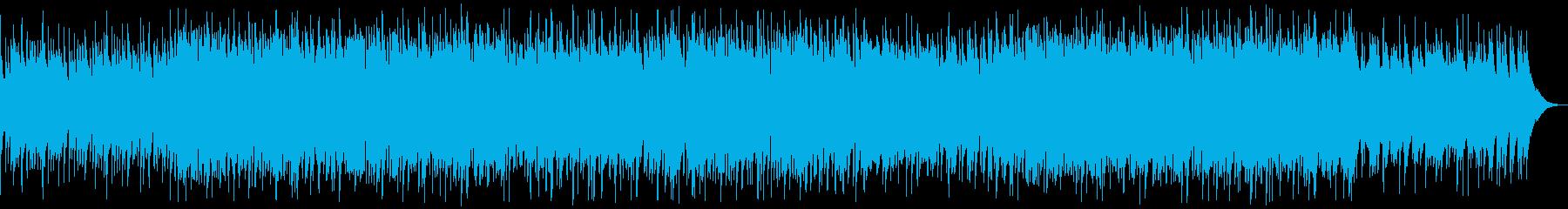 ウクレレと口笛の元気な楽曲の再生済みの波形