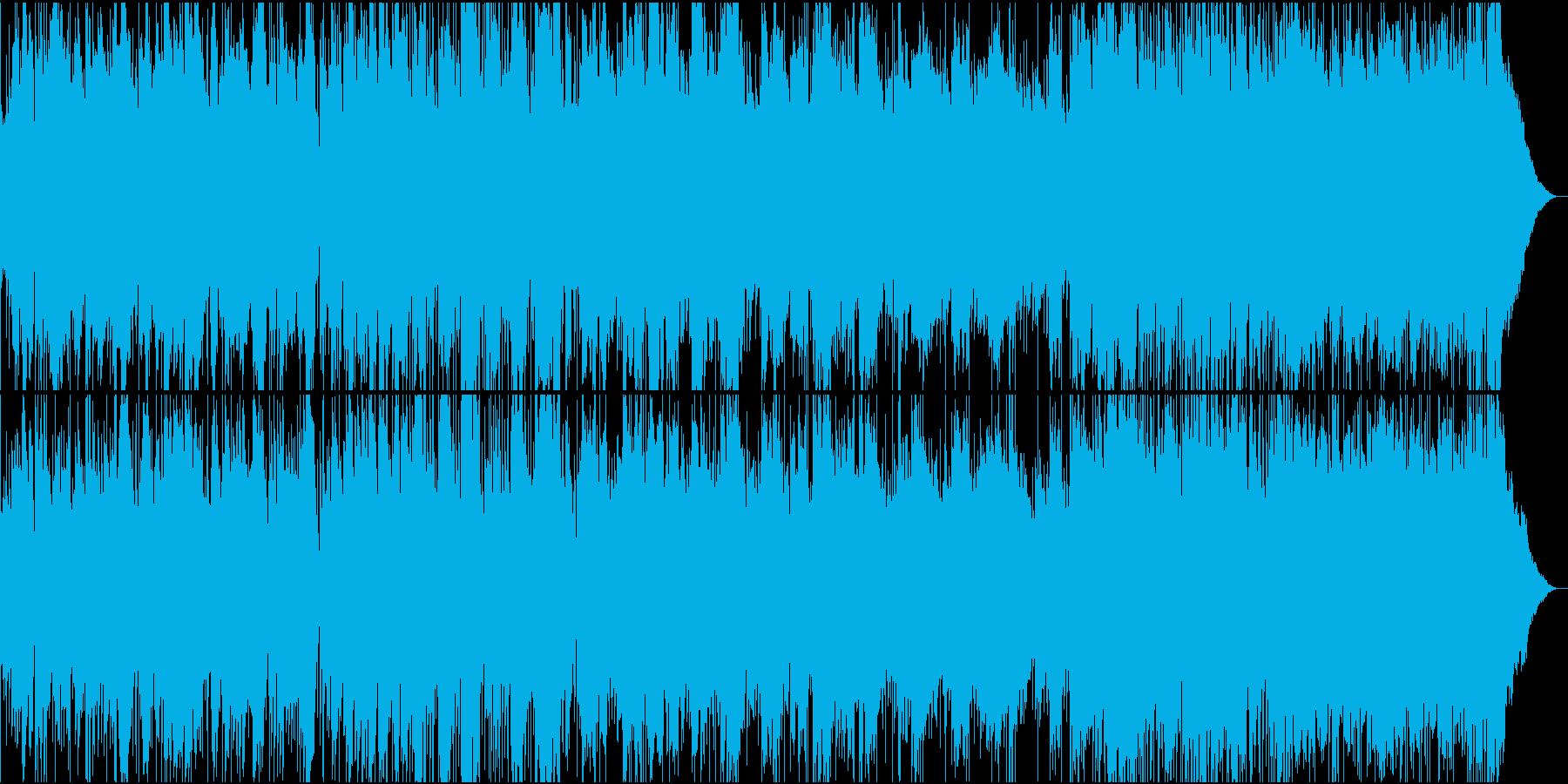 ハーモニカとペダルスティールのバラードの再生済みの波形