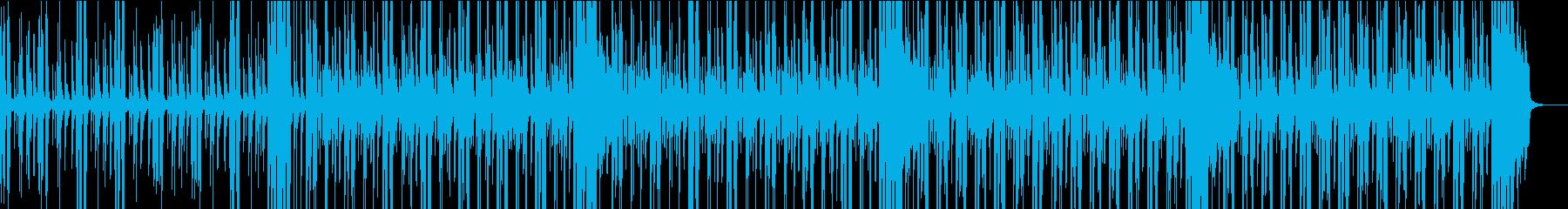 軽快でノリのいいサンバの再生済みの波形