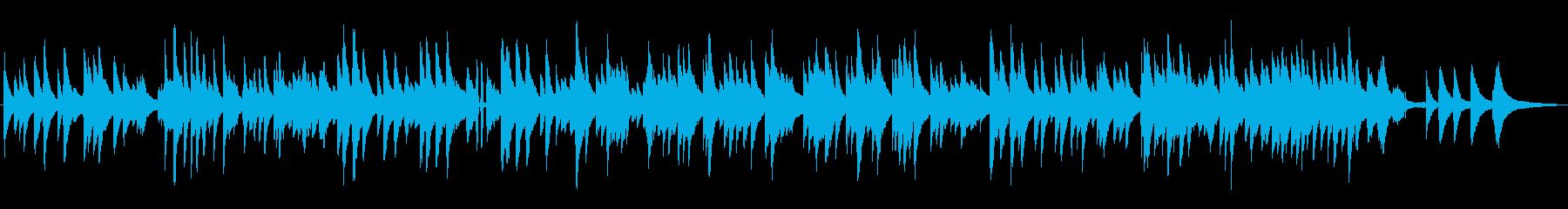 ゆっくりめのピアノソロ/ジャズラウンジの再生済みの波形