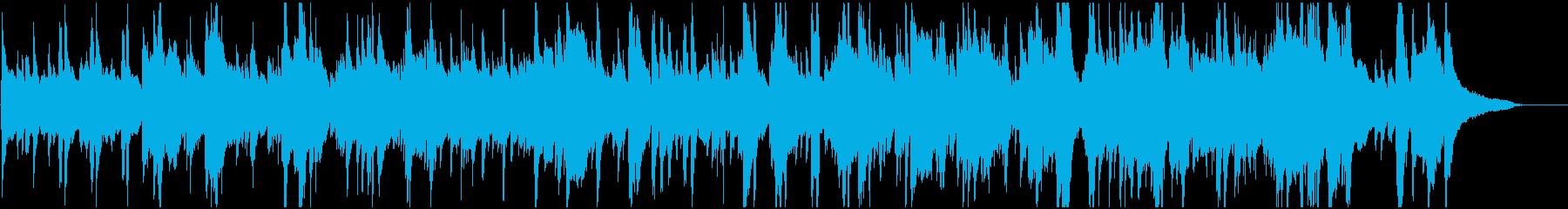 きよしこの夜 幻想的なジャズ 木琴の再生済みの波形